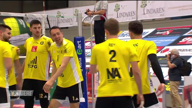 Volleyball: Armiswil - Chênois (2-3): Chênois surprend Amriswil [RTS]