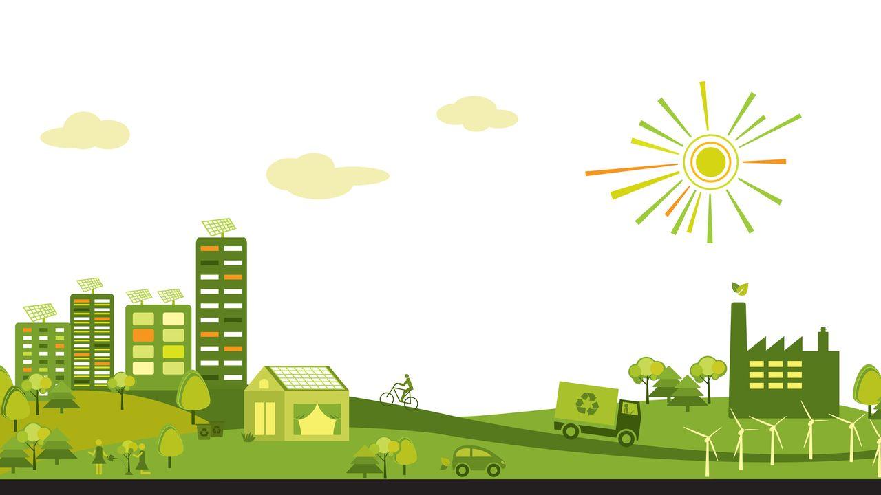 Lʹhyperville est une utopie qui permet de penser le développement de territoires plus solidaires et plus durables.  [Sarella - Depositphotos]
