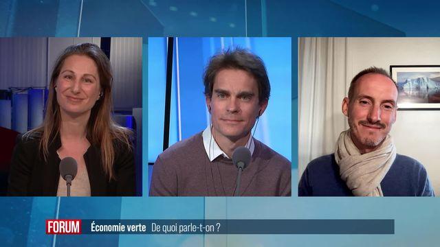 Le grand débat (vidéo) - Economie verte: de quoi parle-t-on? [RTS]
