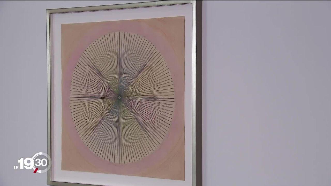 Inconnue de son vivant, l'artiste Emma Kunz s'expose au Musée des beaux-arts d'Argovie. [RTS]