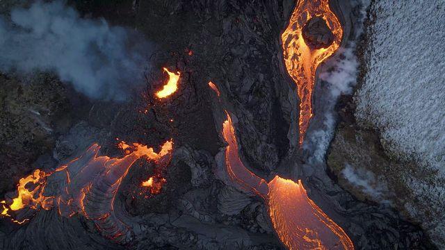 L'éruption en Islande s'étend encore avec une troisième faille volcanique. [Ao Thor - Reuters]