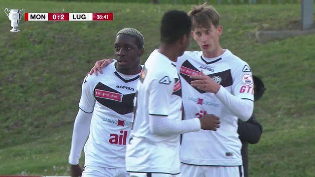 1-8, Monthey- Lugano (0-3): tous les buts de la victoire luganaise [RTS]