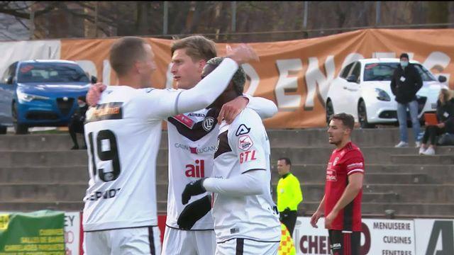 1-8, Monthey- Lugano (0-3): le résumé de la rencontre [RTS]