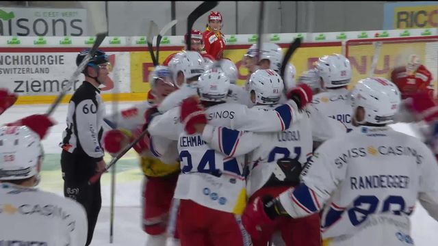 National League, Pré-playoff: Bienne - Rapperswil (1-2 ap) [RTS]
