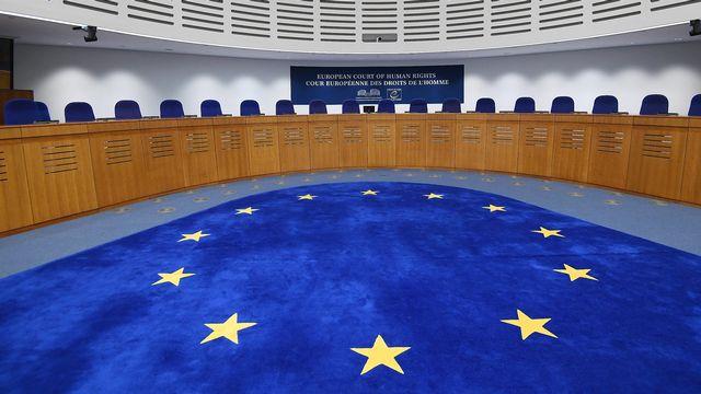 La Cour européenne des droits de l'Homme (CEDH).  [FREDERICK FLORIN - AFP]