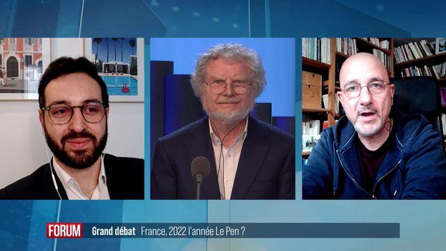 Le débat - France: 2022, l'année Le Pen? [RTS]