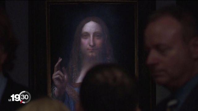 """""""Salvator Mundi"""", le tableau le plus cher au monde, une oeuvre de De Vinci ? [RTS]"""