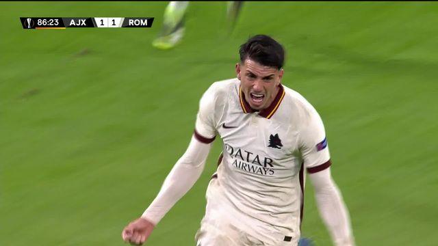1-4 aller, Ajax - Rome (1-2): une bonne option prise par les Italiens [RTS]