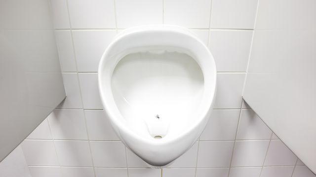 """La mouche dans les urinoirs est un """"nudge"""" (""""coup de coude"""" en anglais). [DenBoma - Depositphotos]"""