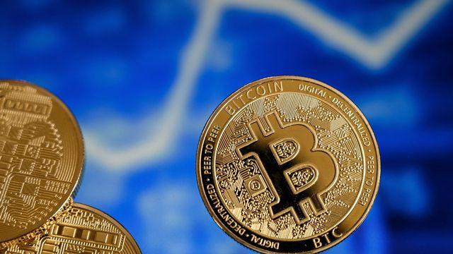 Le bitcoin a passé pour la première fois la barre des 60'000$ en mars [Keystone]