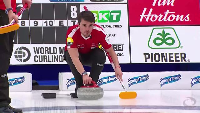 Calgary (CAN), Suisse - Chine (9-4): la Suisse s'impose [RTS]