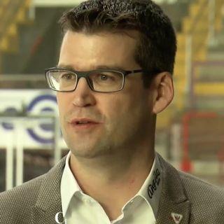 Entretien avec Raphaël Berger, dir. général HC Fribourg-Gottéron [RTS]