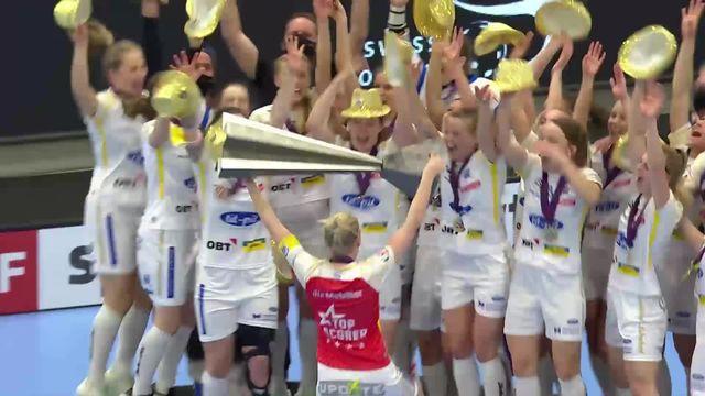 Finale, Skorpion Emmental Zollbrück - Kloten-Dietlikon Jets (2-4): Dietlikon Jets championnes de Suisse! [RTS]