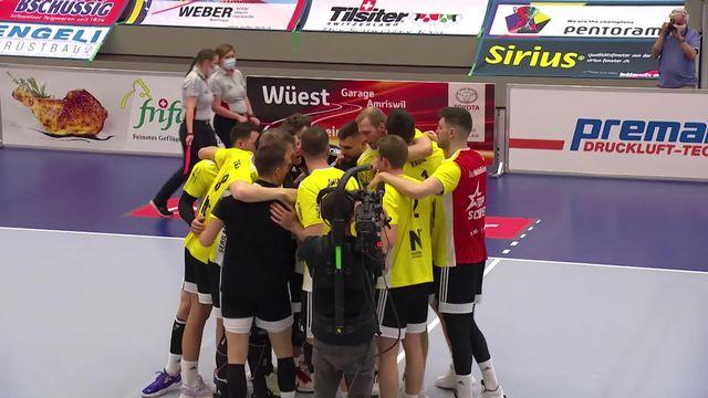 Finale messieurs - match 3, Amriswil - - Chênois (2-3): victoire de Chênois qui mène 2-1 dans la série [RTS]