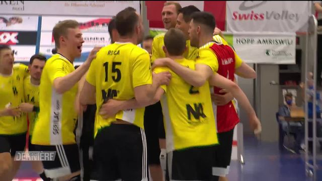 Volley, Playoffs, Finale messieurs, match 3: Amriswil - Chênois (2-3) [RTS]