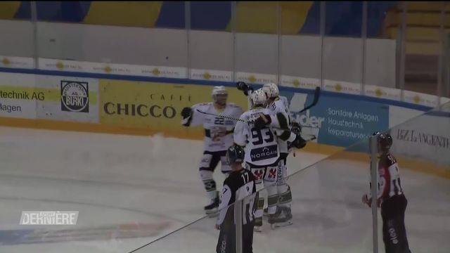 Swiss league, Playoffs, demi-finales: Langenthal - Ajoie (2-6) [RTS]