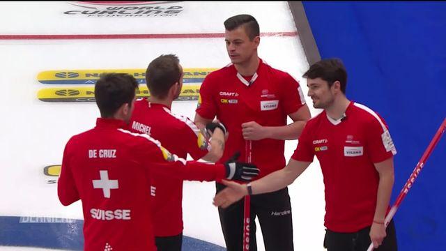 Curling, Championnats du Monde: qualification des Suisses pour les quarts de finale [RTS]