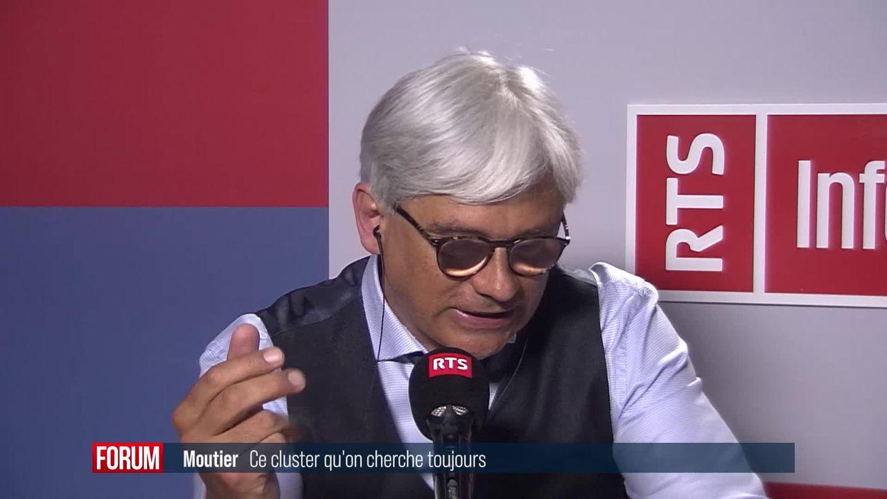 """Le Jura va demander à l'OFSP d'étudier le """"miracle de Moutier"""" [RTS]"""