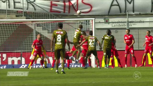 Football: le Fc Sion en bas du tableau [RTS]