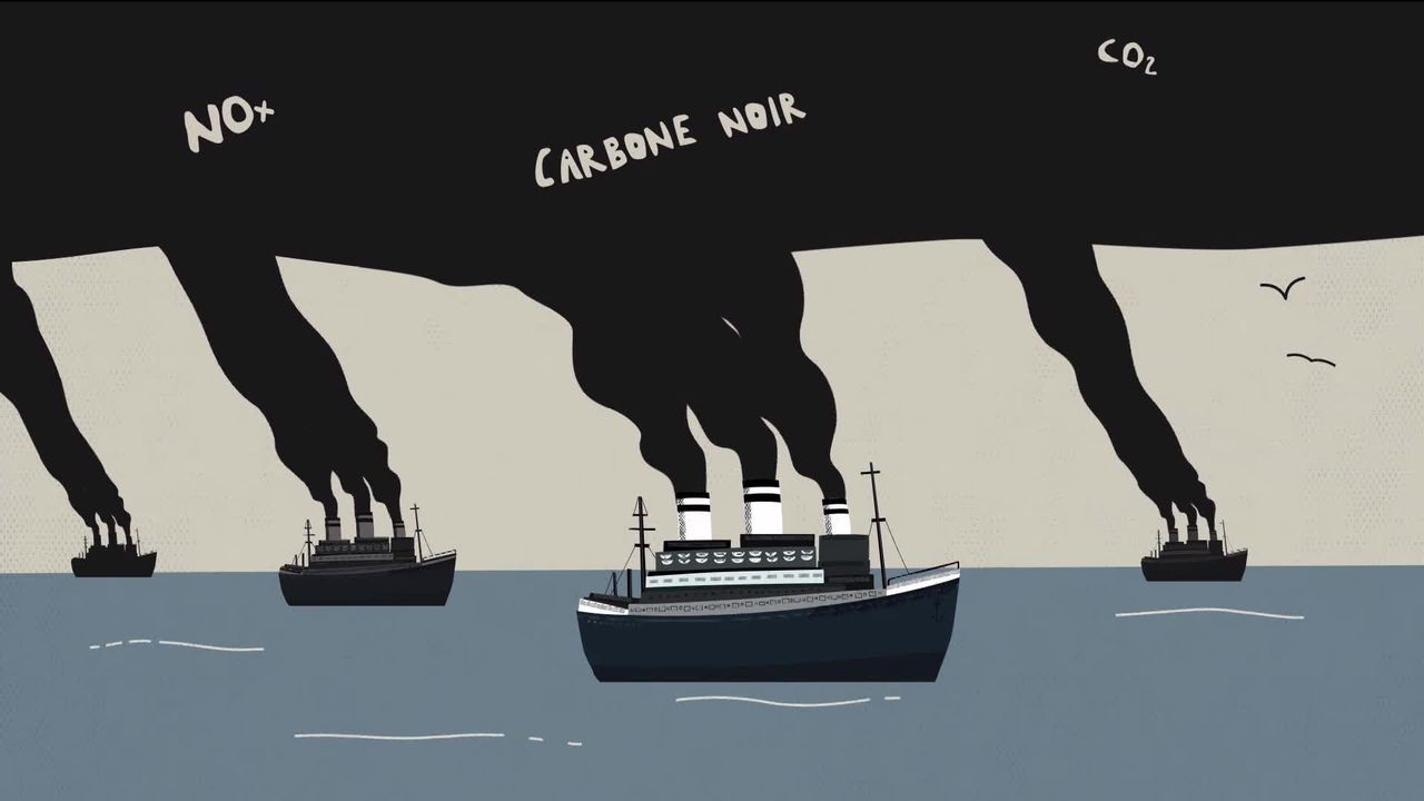 Transport maritime : Attention pollution ! [RTS]