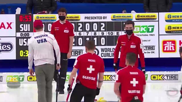 1-4, Suisse - USA (7-6): la Suisse se qualifie pour les demi-finales ! [RTS]