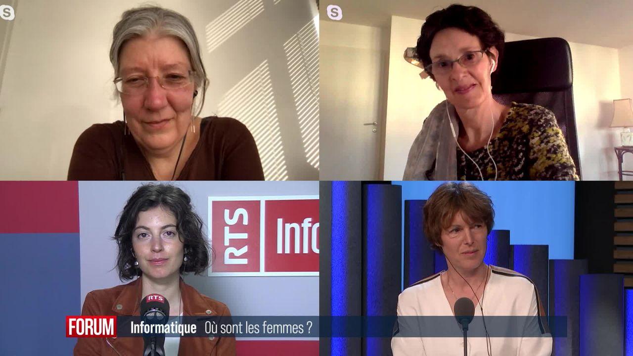 Le grand débat - Informatique: où sont les femmes? [RTS]
