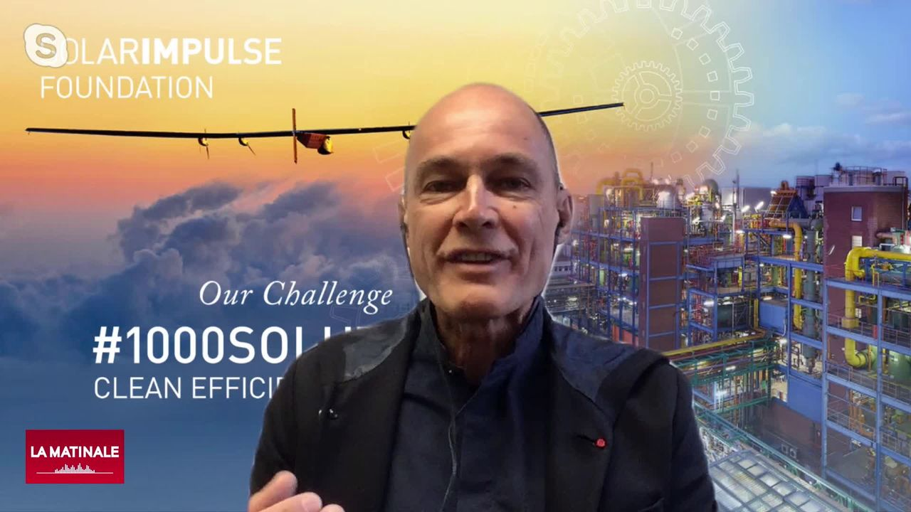 Bertrand Piccard et ses 1000 solutions aux bénéfices de l'environnement et de l'économie (vidéo) [RTS]