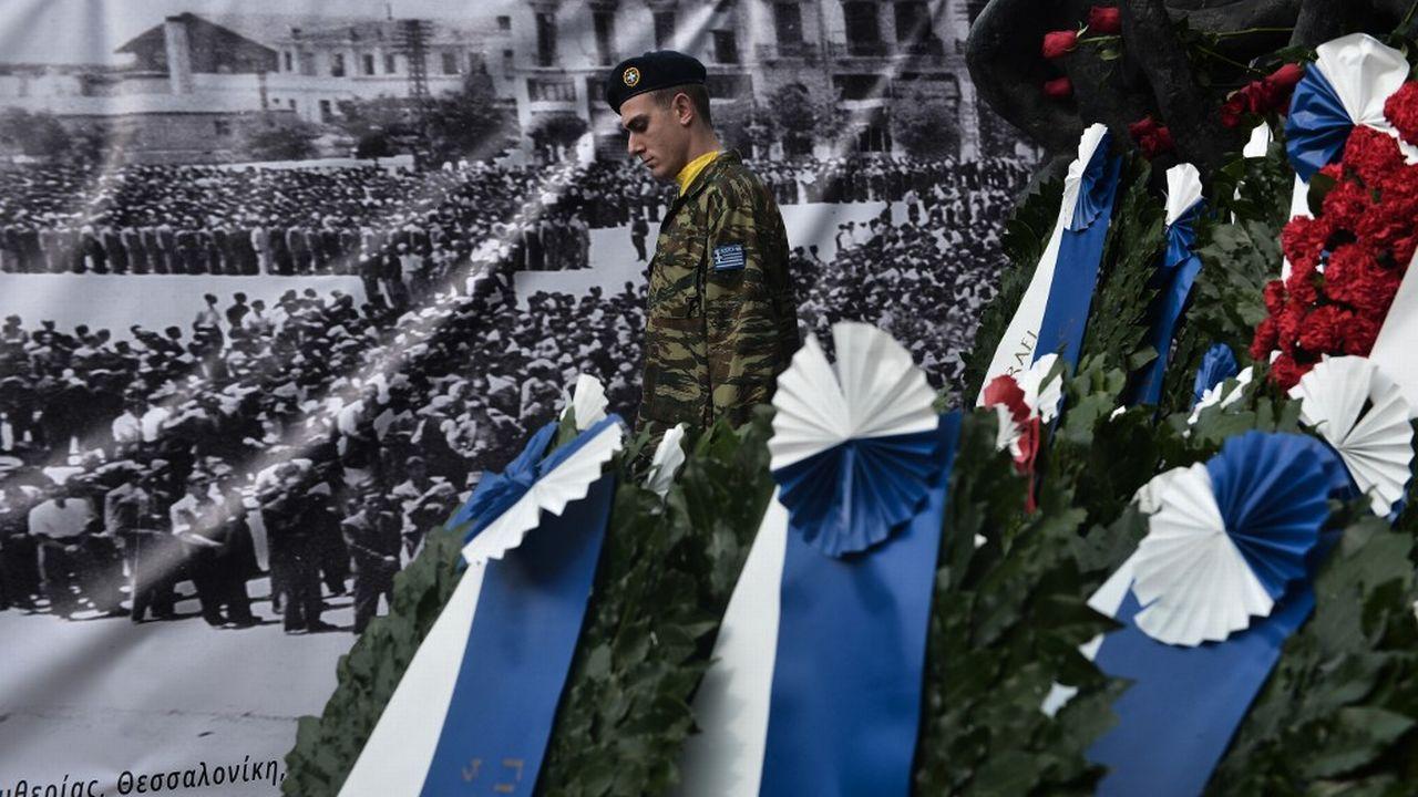 Thessalonique tente de se remémorer son important héritage juif. [Sakis Mitrolidis - AFP]