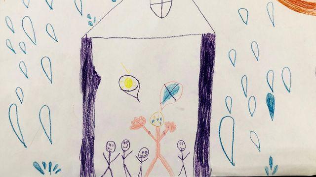 """""""Les larmes"""", un dessin réalisé par Zachary. [Zachary ]"""