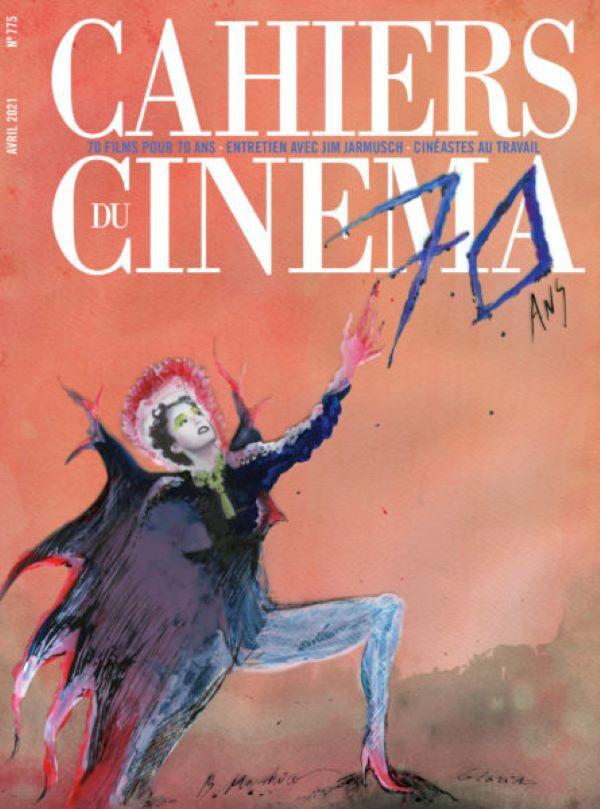 La couverture qui fête les 70 ans des Cahiers [Les cahiers du cinéma]