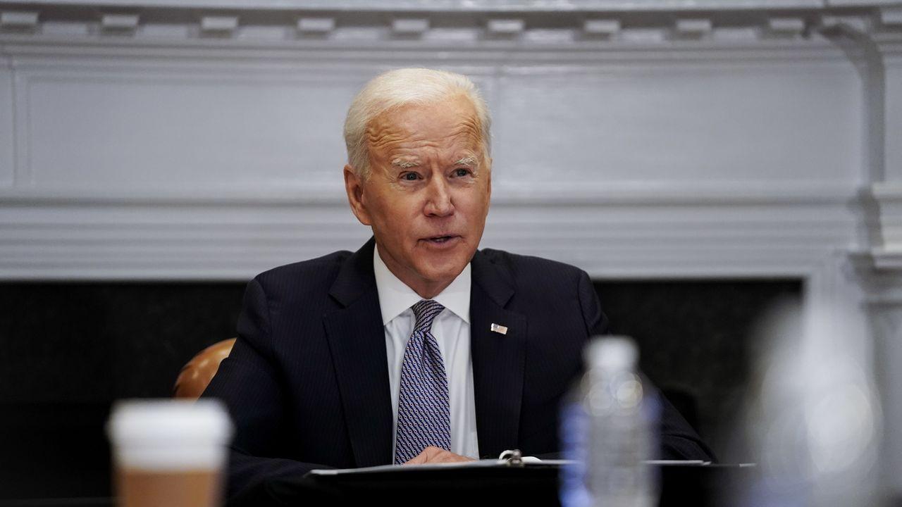 Joe Biden a décidé que les troupes US resteraient en Afghanistan au-delà de l'échéance du 1er mai fixée dans un accord avec les talibans.  [EPA The New York Times POOL - KEYSTONE]
