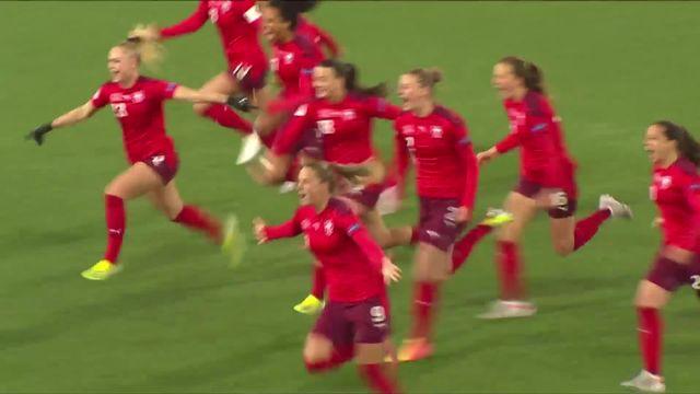 Barrage retour, Suisse - Rép.tchèque (1-1, 3-2 tab): les Suissesses s'imposent aux tirs aux buts ! [RTS]