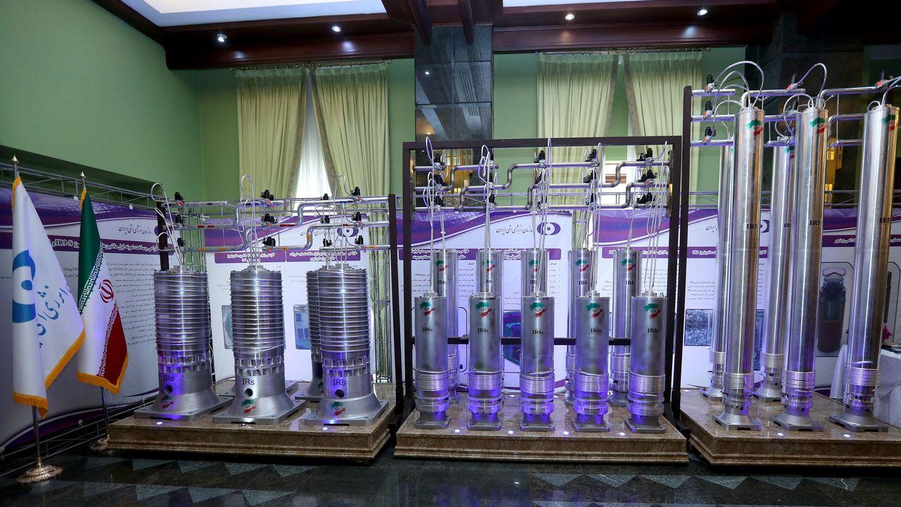 Une nouvelle génération de centrifugeuses devraient permettre à l'Iran d'améliorer ses capacités d'enrichissement de l'uranium. [Iranian Presidency Office - Reuters/WANA]