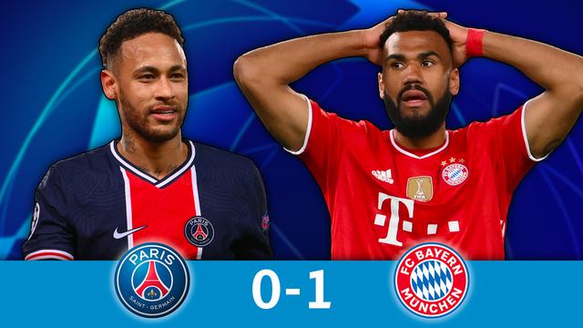 1-4 retour, PSG - Bayern Munich (0-1): le PSG résiste au Bayern et file en demies !