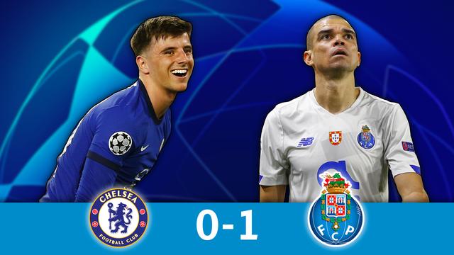 1-4 retour, Chelsea - Porto (0-1): les Blues en demies malgré un but exceptionnel de Porto !