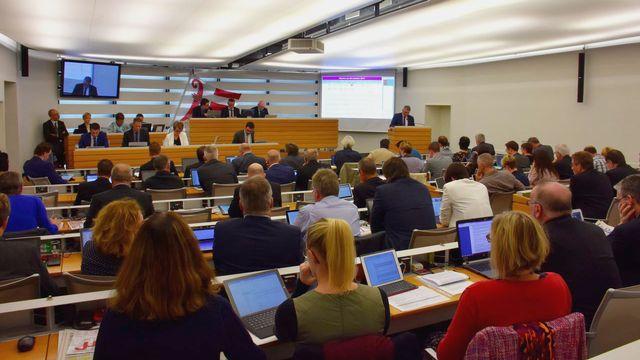 La loi sur le salaire minimum a été adoptée dans le Jura en 2017. [Gaël Klein - RTS]