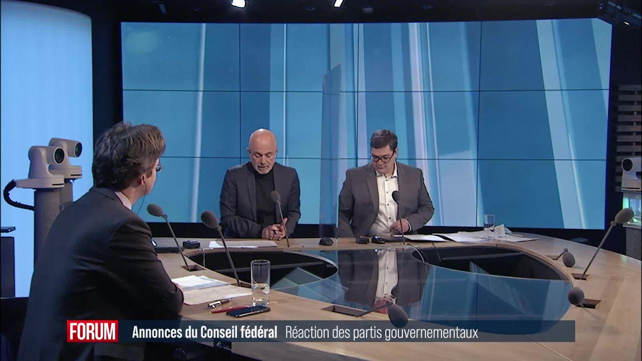Le débat - Le Conseil fédéral allège les mesures anti-Covid [RTS]