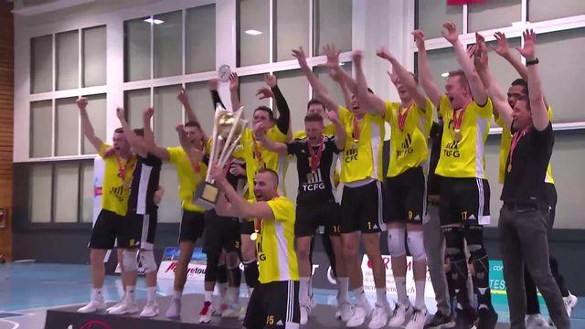 Finale messieurs - match 4, Chênois - Amriswil (3-0): les Genevois sacrés champions !! [RTS]