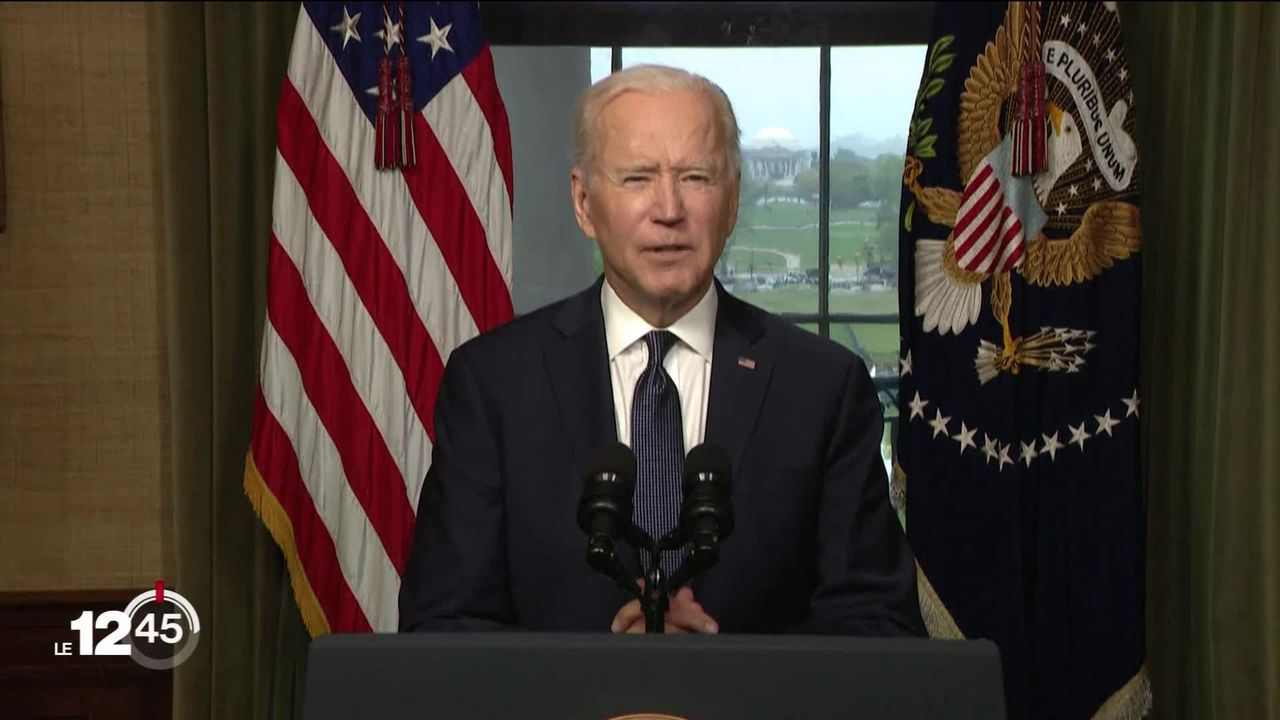 Joe Biden confirme le retrait des troupes américaines d'Afghanistan d'ici le 11 septembre 2021 [RTS]