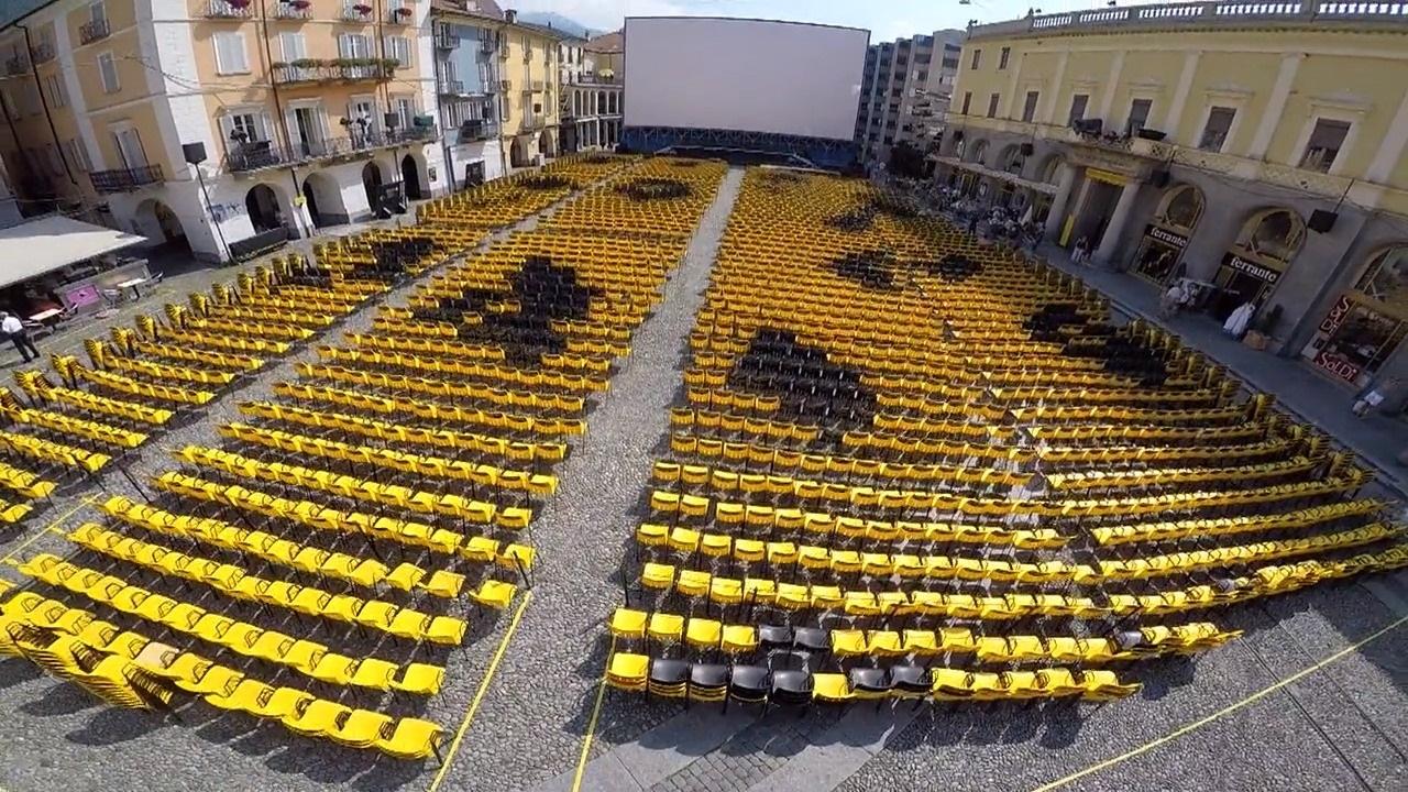 Festival de Locarno. [RTS]