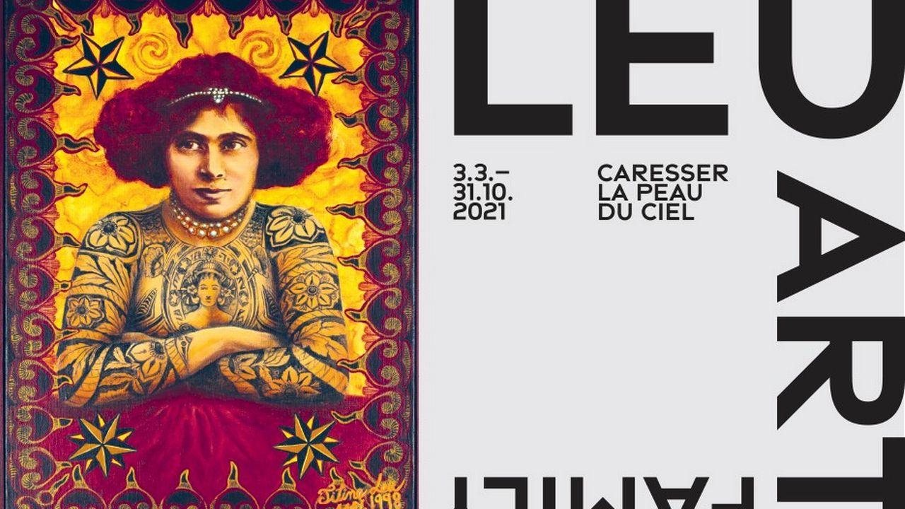 """Le visuel de l'exposition """"Leu Art Family"""" du Musée Tinguely de Bâle. Musée Tinguely [Musée Tinguely]"""