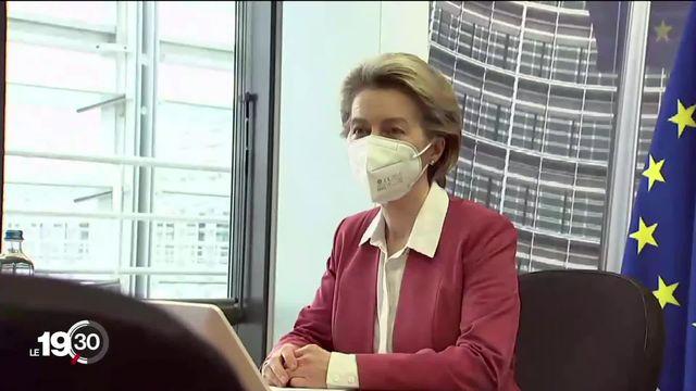 Le gouvernement suisse est attendu le 23 avril à Bruxelles pour discuter de l'accord-cadre. [RTS]