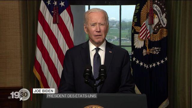 Les troupes américaines se retireront d'Afghanistan d'ici au 11 septembre 2021. [RTS]