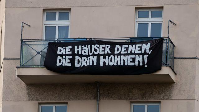 Mécontentement à Berlin, après le retrait d'une loi qui plafonne les loyers. [Christoph Soeder - DPA]