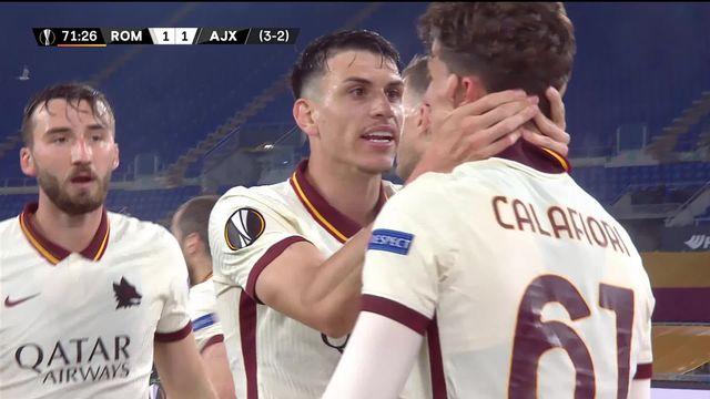 1-4 retour, Rome - Ajax (1-1): la Roma tient sa qualification [RTS]