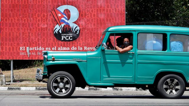 Le congrès du parti communiste va tourner une page de l'histoire cubaine. [Ernesto Mastrascusa - EPA/Keystone]