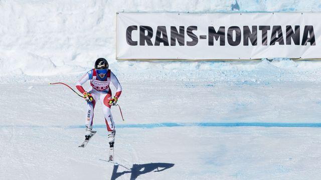Crans-Montana espère organiser à nouveau les Mondiaux après ceux de 1987. [Alessandro Della Valle - Keystone]