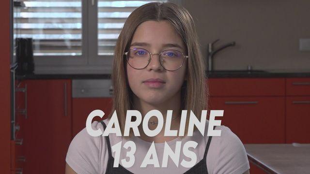Ma maladie rare (TV) : Caroline - 13 ans [RTS]