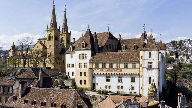 Le canton de Neuchâtel a présenté des comptes provisoires 2020 à l'équilibre, malgré la pandémie. [Jean-Christophe Bott - Keystone]