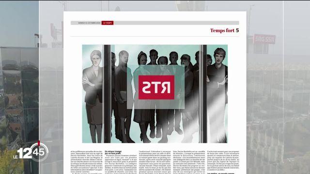 Accusations de harcèlement à la RTS : rapports d'enquêtes rendus [RTS]